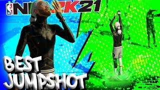 NBA 2K21 - BEST JUMPSHOT FOR BUILDS WITH UNDER 75+ 3 POINT RATING