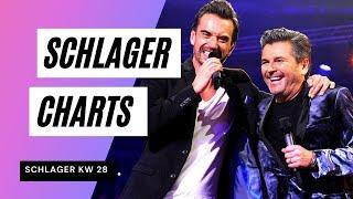 TOP 10 SCHLAGER CHARTS im JULI ❤ Die Charts der Woche ❤