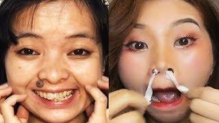 Asian Makeup Tutorials Compilation 2020 - Basic makeup guide / part71