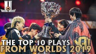 The Top 10 Plays From Worlds 2019 | LoL World Championship