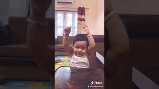 Tik tok viral video | top TikTok songs | 11 month baby try to dance