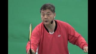 Badminton Smash Defence 2  Change your position as situation changes