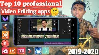 Top 10 professional Video Editing apps of the year 2020 | Free Video Editing Softwares for Mobile