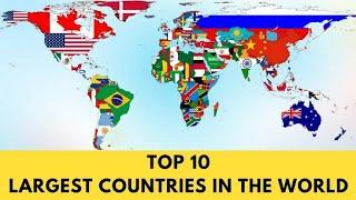 top 10 country | Top 10 largest country in the world by area | #country | new update 2021