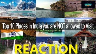 Pakistani Reacts to Top 10 Places in India you are NOT allowed to visit | Masala Reaction