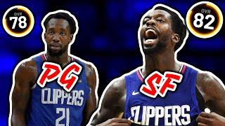 5 Players That Overall INCREASES If You Change Their Position In NBA 2K20
