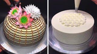 Easy Cake Decorating Ideas | Most Satisfying Chocolate Cake Decorating Tutorials | Cake Recipes