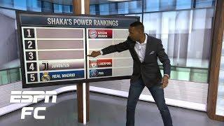 Shaka's Power Rankings AND Best of the Week | ESPN FC