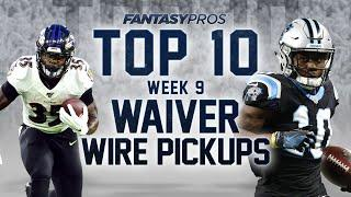Top 10 Week 9 Waiver Wire Pickups (2020 Fantasy Football)