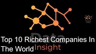 Top 10 Richest Companies In The World 2000- 2020 Beautiful Data