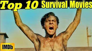 Top 10 Survival Movies in the World All Time Hit || HIGHEST IMDb Rated Survival movies ||