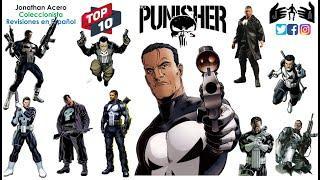 PUNISHER TOP 10 Marvel Legends Toy Review Juguete Revisión en Español Jonathan Acero