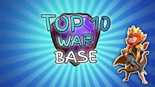 Top 10 Th 12 War Base | Townhall 12 War Base With Link | Clash of Clan