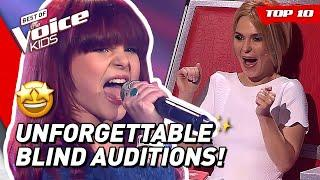 UNFORGETTABLE BLIND AUDITIONS in The Voice Kids!