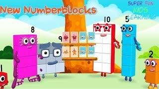 New Numberblocks 1 - 10 NumberBlocks Full Episodes Numberblocks Card Fun Learn To Count Cartoons