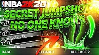 Secret GREENLIGHT JUMPSHOTS That Nobody Knows About! Automatic Greens! Best Jumpshots NBA2K20!