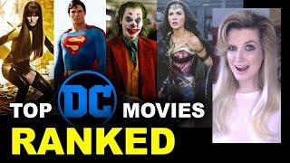 DC Movies Ranked - Worst to Best, DCEU today!
