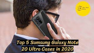 Top 5 Samsung Galaxy Note 20 Ultra Cases in 2020
