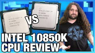 Intel's 10900K Stock Problem: Intel i9-10850K CPU Review & Benchmarks