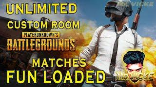 Unlimited Custom room live - Fun Loaded - Clan Matches | PUBG Mobile LIVE | Tamil/English