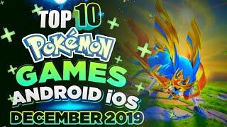 TOP10 Best Pokémon Games of the Month | Android/iOS | December 2019