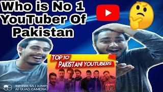 HA Reactions On Top 10 Pakistani YouTubers | Who is Number 1 Youtuber Of Pakistan | By HA Reactions