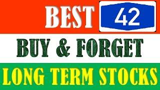 Top 42 stocks for Long Term Investment || Buy and Hold for 2020 - 2025  || Multibagger Stocks ||