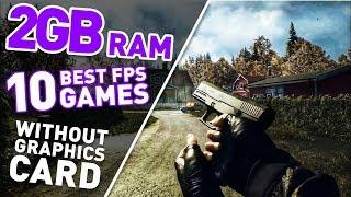 Top 10 FPS Games For Pc & Laptop 2GB RAM - Without Graphics Card