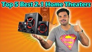 ✅ Top 5 Best 2.1 Home Theater Systems in India With Price 2020 | Review & Comparison