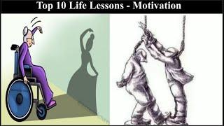 Top 10 Lessons|LIFE|Every one should Learn|Motivation|Million Word Pictures|