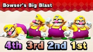 Mario Party The Top 100 MiniGames Peach Vs Mario Vs Luigi Vs Wario (Master Difficulty)