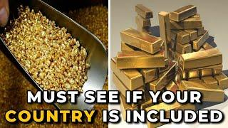 Top 10 Most Gold Producer Country in 2021