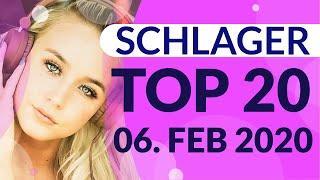 SCHLAGER CHARTS 2020 - Die TOP 20 vom 06. Februar