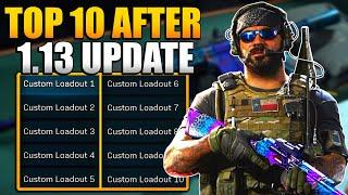 Ranking the Top 10 Best Weapons after 1.13 Update | Modern Warfare