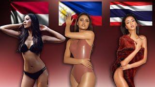 INDONESIA vs PHILIPPINES   vs THAILAND  - Miss Universe 2020