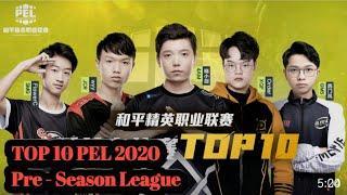 TOP 10 Clutches Moment - PEL 2020 Season 1 ( Pre Season Phase )