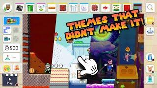 14 Level Themes That Didn't Make it Into Mario Maker 2!? [Themes We Need!]