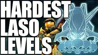 HARDEST Halo LASO Levels of All Time