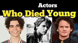Actors Who Died Too Young