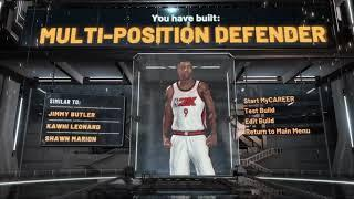 MULTI-POSITION DEFENDER BUILD IS EXTREMELY VERSATILE NBA 2K20! THE BEST PURE LOCKDOWN BUILD NBA 2K20