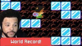 Tetris Themed Level - INCREDIBLE LEVEL DESIGN - SMM2 WR
