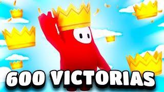 600 VICTORIAS EN FALL GUYS!!