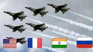 Top 10 Country by Aircraft Strength 2020-21 Military Power Comparison #short