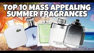 Top 10 EASY TO WEAR Designer Summer Fragrances - COMPLIMENT GETTERS!!!