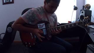 Van Halen - Ice Cream Man Solo (Cover) and Ending