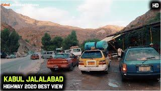 Jalalabad to Kabul  by road trip  | Street food | Best Mountain view Road | 2020 | HD | 1080/60p