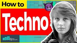 How to Make TECHNO (like CHARLOTTE DE WITTE, Amelie Lens, Adam Beyer) – FREE Ableton Project