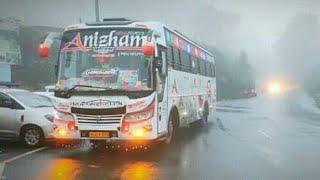 Anizham Holidays interior video Brahmachari interior Best tourist bus in kerala