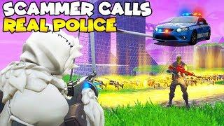 Scammer Calls The Police They Actually Came!