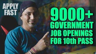 Earn Rs. 25000 Per Month | Government Job Openings for 10th Pass | SSC MTS | SSC MTS Salary